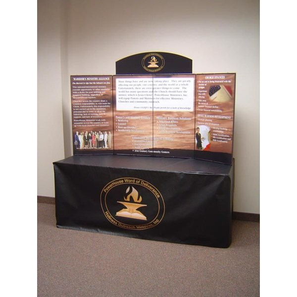 TD009 - Custom Table Top Display for Religious Organizations